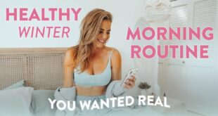 My Real HEALTHY Winter Morning Routine 2020 // I OVERSLEPT!