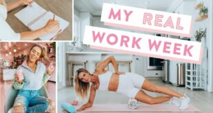 Week in The Life VLOG   My Real Monday - Friday Routine