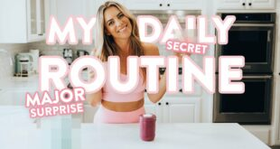 My Secrets to a HEALTHY Daily Routine | MAJOR ANNOUNCEMENT!!!